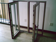 Latest design fabrication of aluminum windows and doors with 5 years warranty