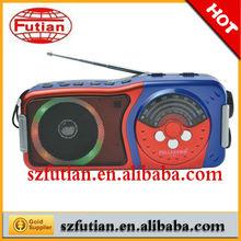 Hotest FM/AM Radio with USB/SD card ,LED light ,good tone quality