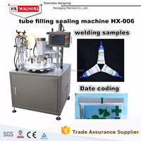 High Quality Hand Cream Filling And Seal Machine Cream Filler Cosmetic Filling Machine