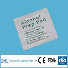 antiseptic alcohol prep pads