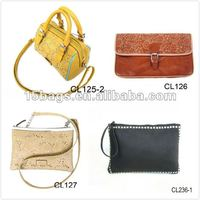 Fashion elgant style women leather handbag