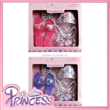 Hot sale princess dress up set princess role play accessories birthday party pageant supplies