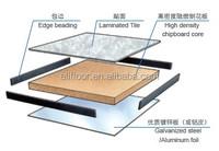 Computer room chipboard core wooden false floor