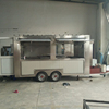 CE ISO9001 OEM gas/electrical mobile street fast food trailer/carts ice cream truck/kitchen BBQ van/kiosk for sale