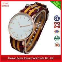 R0792 New fashion Woven quartz watch, alibaba china fabric vogue watch