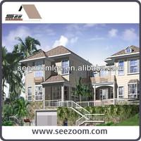 Luxury Prefabricated Light Steel House