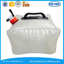 LDPE collapsible water container