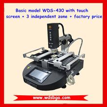 Best economic BGA rework station WDS-430 infrared BGA soldering machine, laptop motherboard bga repair tool