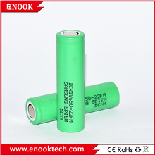 Electronics product! Samsung ICR18650-22FM 18650 2200mAh battery rechargeable battery lifepo4 battery