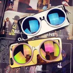 3D sun glasses mobile phone case for iPhone 6 6Plus 5 5s Mirror Case