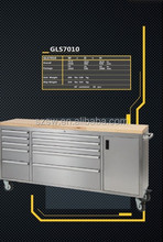 A direct manufacturer customise heavy duty metal tool box with optional drawers