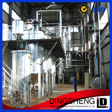 vegetable crude oil refinery equipment for soybean, rapeseed oil from dingsheng