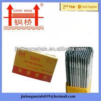 Factory wholesale Copper Bridge Brand with CE e 6013 e4313 small spatter welding electrode