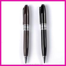 hot sale promotion black metal pen 500pcs FREE SHIPPING by DHL print customize logo