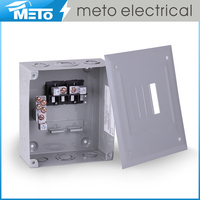 100A ANSI standard residential three wire single phase customized economical pluge-in switch box with modular enclosures