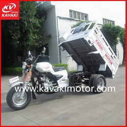Three Wheel Motorcycle made in Guangzhou China/tricycle with Simple Shed