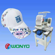 WONYO single head embroidery machine price for shoe embroidery machine MAQUINA PARA BORDAR