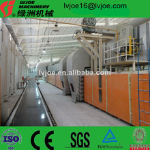 High Quality Automatic Paper Faced Gypsum Board production line/Machinery/Equipments(for Wall Building