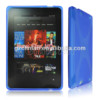 New rubber X line gel TPU case for amazon kindle fire hd