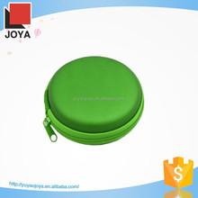 special round design pu leather watch case