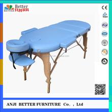 Better Oval massage table panchakarma massage table