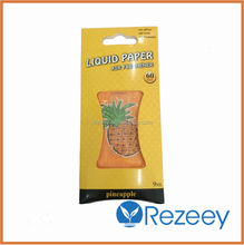 Liquid & Paper air freshener