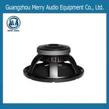 "Good sound quality 3"" coil 300W stage audio woofer in Ferrite magnet MR1217075B"