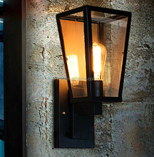 metal up and down vintage wall lamp with ST64 Edison bulb for dinning room