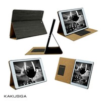 Huihuang professional Ultra-thin& pu leather wood case for ipad air/wood cover case for ipad