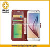 High Quanlity! Hot Sale 2015 Newest thin Leather Flip Case For Samsung S6/S6 Edge
