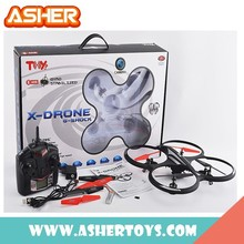 New Design 4W 2.4G Rc Quadcopter Intruder Ufo, Rc Brushless Motor Quadcopter, Outdoor Quadcopter Rc Helicopter
