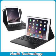 Keyboard With Leather Cover For iPad mini Folio Rotate Bluetooth Keyboard With Leather Case For iPad mini Black Color