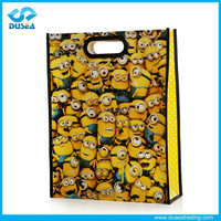 2015 New Style Advertising Best Selling Reusable Non Woven Die Cut Bag