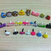 New Design dust plug ear cap for smartphone