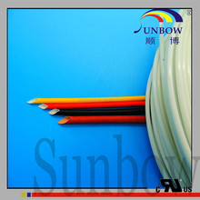 SUNBOW silicone rubber glass fiber insulating sleeving