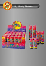 Streamer Party Popper Fireworks for Party