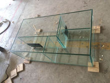 ultra clear float glass sheet indoor aquariums, low iron fish tanks