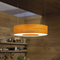 famous design wood color restaurant italian modern chandelier lighting
