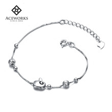 New Fashion Personalized Bracelet Jewelry Chain Link Bracelet Bangles Wholesale European 925 Sterling Silver Bracelet