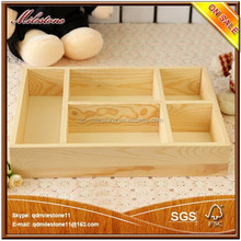 eco-friendly natural pine wooden food/gift/jewelry storage tray