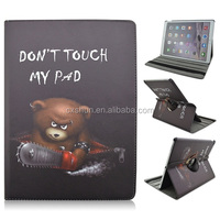 """Don't touch my pad Painted 12.9"""" Folio Leather Flip Smart Tablet Cover Case For Apple iPad Pro"""