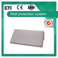 Cheap plastic & aluminum corner guard (PC-10)