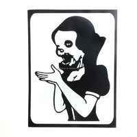 1PC Hot Zombie Snow White princess Styling Vinyl Decal Sticker Skin for Apple Laptop for MacBook Air/Pro 11 13 15 Computer Wall