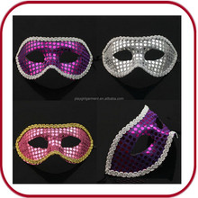OEM mini masquerade mask custom plastic mask female latex party mask PGAC-0707