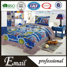 100%polyester custom printed kids bed sheets manufacturers in china