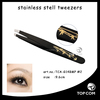 Best quality titanium tweezer for eyebrows