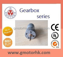 24V low speed high torque gearbox motor