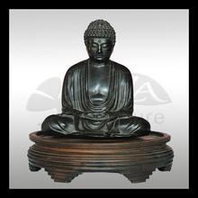 high quality 2014 brass antique look buddha statue