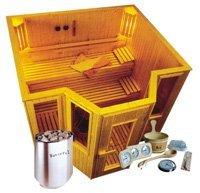 wooden sauna house, traditional sauna room,dry sauna room
