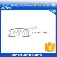 ISO9001 VDA6.1 QS9000 ISO14001 ISO/TS 16949 Certification GDB1138 044 Brake Pads Type supply customizable quality auto brake pad